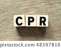 Letter block in word CPR 48397816
