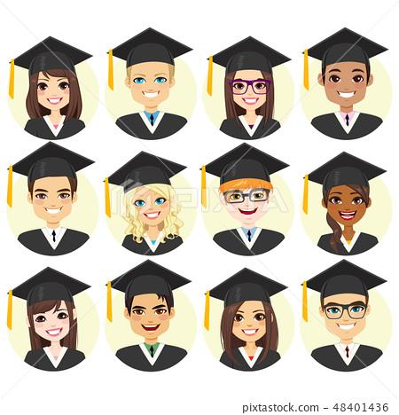 Graduation Student Avatar Collection 48401436