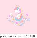 Sweet unicorn princess. 48401486