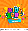 Banner for kids zone. 48401540