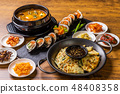 Representative Korean food typical Korean foods 48408358