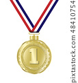 Luxury gold badges 48410754