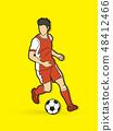 足球 商标 男性 48412466