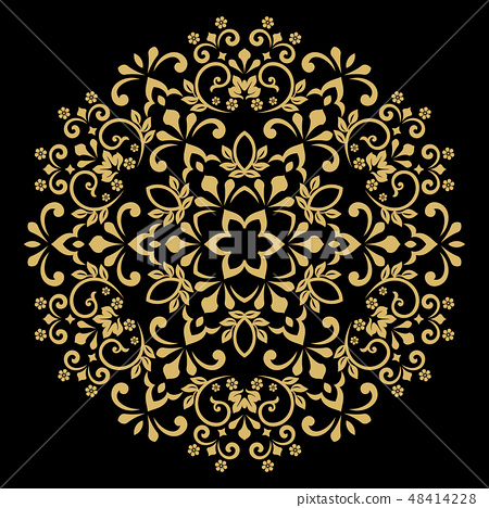 Decorative frame Elegant vector element for design 48414228