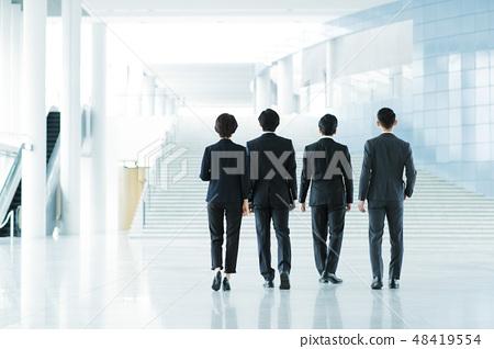 비즈니스 사무실 사업가 미들 경력 팀 48419554