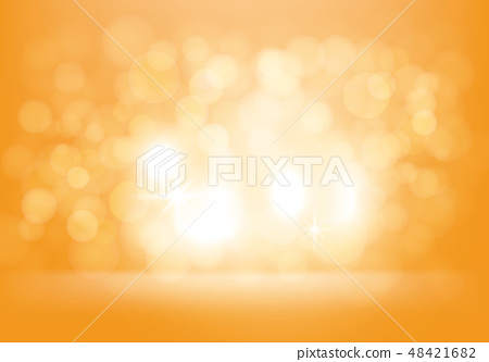 Vector yellow abstract background with flashes 48421682