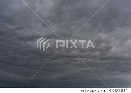 Cloudy sky 48421814