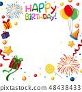 Fun happy birthday template 48438433
