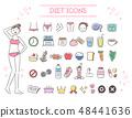 飲食美學圖標集(多彩) 48441636