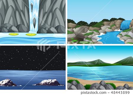 nature landscape scene pack 48443899