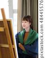 Art Atelier Gypsum Drawing 48445576