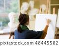 Art Atelier Gypsum Drawing 48445582