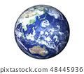 지구 (일본 부근에 거대한 태풍) 48445936
