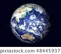 地球(日本附近的巨大台风)星 48445937