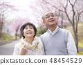 看樱花的资深夫妇 48454529