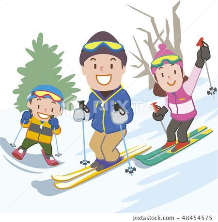家庭滑雪 48454575