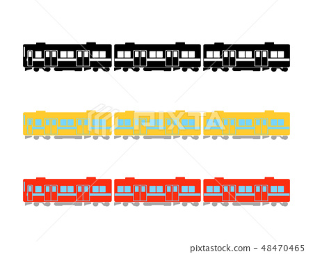 Illustration of a train 48470465