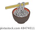 메밀 soba noodles 48474011