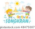 Songkran water festival 48475007