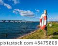 A bridge between Seeland und Moen in Denmark 48475809