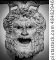 Gothic Satan Head 48482946