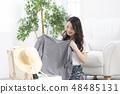 여성 라이프 스타일 여행 48485131