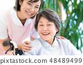 Nursing Care Image Senior Women and Caregivers 48489499