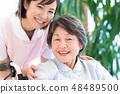Nursing Care Image Senior Women and Caregivers 48489500