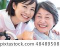 Nursing Care Image Senior Women and Caregivers 48489508