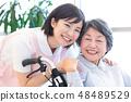 Nursing Care Image Senior Women and Caregivers 48489529