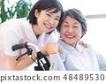 Nursing Care Image Senior Women and Caregivers 48489530