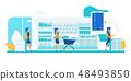 Self Service Store. Smart Shelf Vision Technology. 48493850