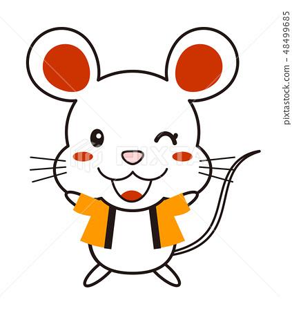 正在玩一件外套的banzai的老鼠 48499685
