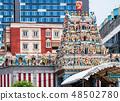 싱가포르 스리 빌라 마카 리암 사원 塔門 장식 48502780