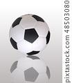 football and shadow 48503080