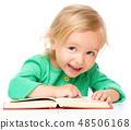 reading, girl, child 48506168