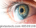 Human Eye Macro View 48509108