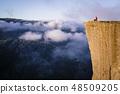 Preikestolen - Norwegian landmark 48509205
