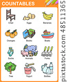 Nouns the can be  countable education worksheet 48511365