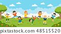 เด็ก,ๆ,สวนสาธารณะ 48515520