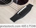 Wooden guitar. Romantic music.  48517598