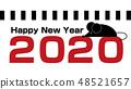 2020 New Year card 48521657