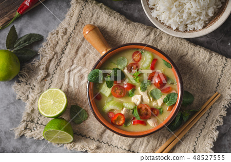Delish homemade green curry 48527555