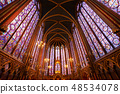 Stained glass windows of Saint Chapelle 48534078