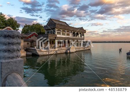 北京頤和園石舫 中国北京観光スポット Summer Palace in Beijing 頤和園清宴舫 48538879