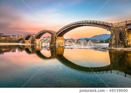 Iwakuni, Japan at Kintaikyo Bridge  48539690