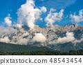 Alps in Austria near Innsbruck at summer 48543454