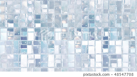 Abstract background illustration with repeated boxes pattern 48547708