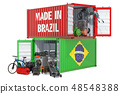 Production and shipping from Brazil 48548388