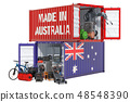 Production and shipping from Australia 48548390